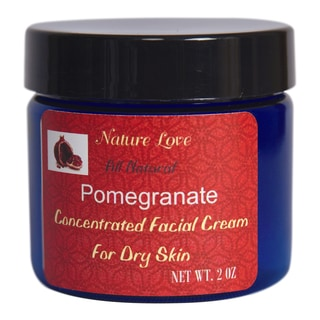 All Natural Pomegranate Concentrated Facial Cream For Dry Skin