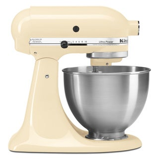 KitchenAid KSM95AC Almond Cream 4.5- quart Ultra Power Tilt-head Stand Mixer with $50 Mail-in Rebate