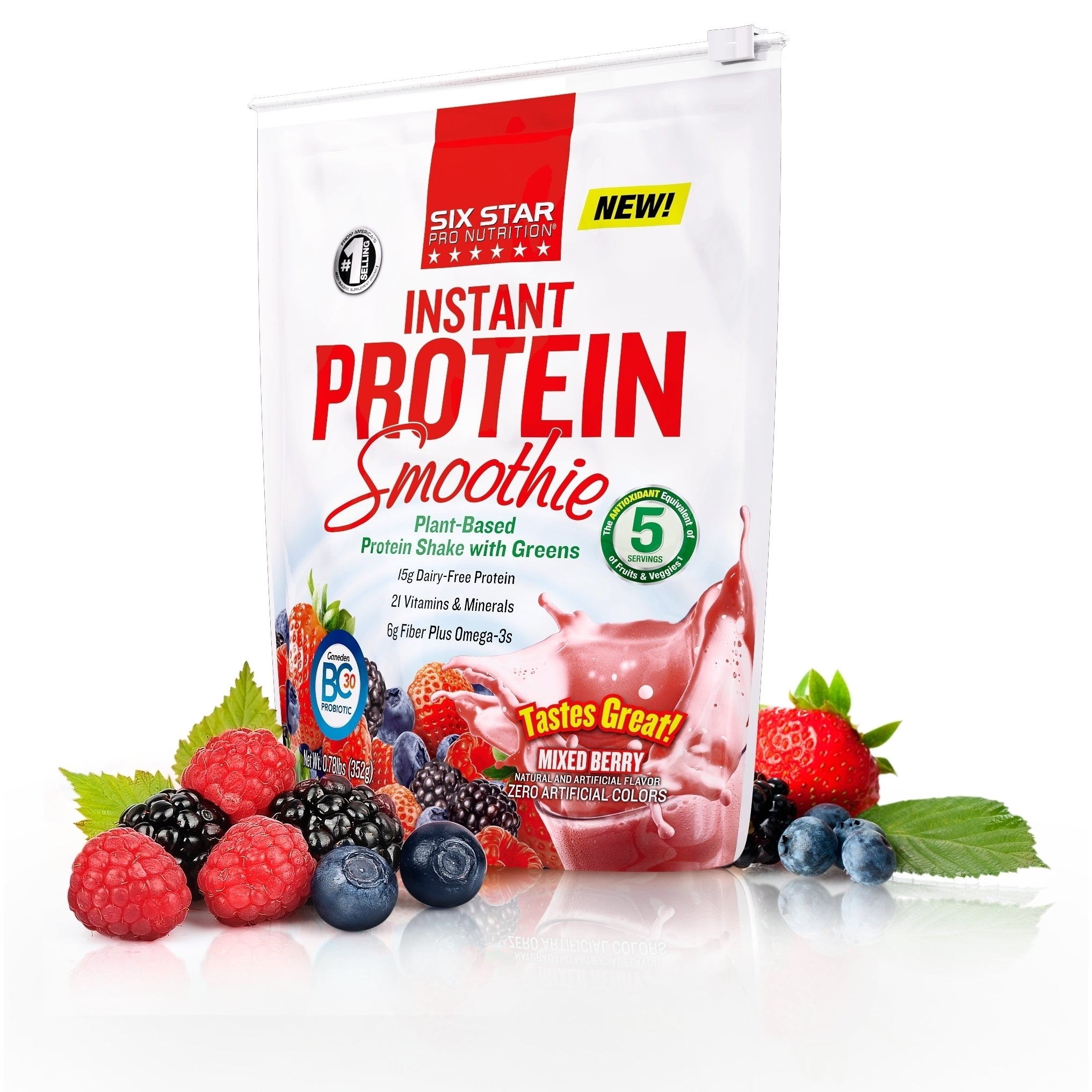 Six Star Pro Nutrition Six Star Elite Series Mixed Berry Instant Protein Smoothie Mix at Sears.com