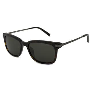 Michael Kors Men's MKS350M Carter Green Rectangular Sunglasses