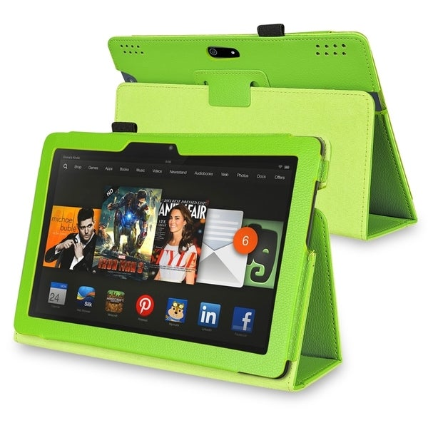 INSTEN Stand Leather Phone Case Cover for Amazon Kindle Fire HDX 8.9-inch