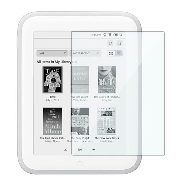 INSTEN Clear Screen Protector for Barnes & Noble Nook Glowlight