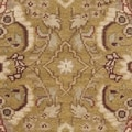 Safavieh Hand-knotted Dynasty Gold/ Red Wool Rug (3' x 5')