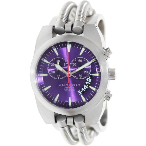 ANDROID Men's Hydramatic Stainless Steel Swiss Quartz Watch