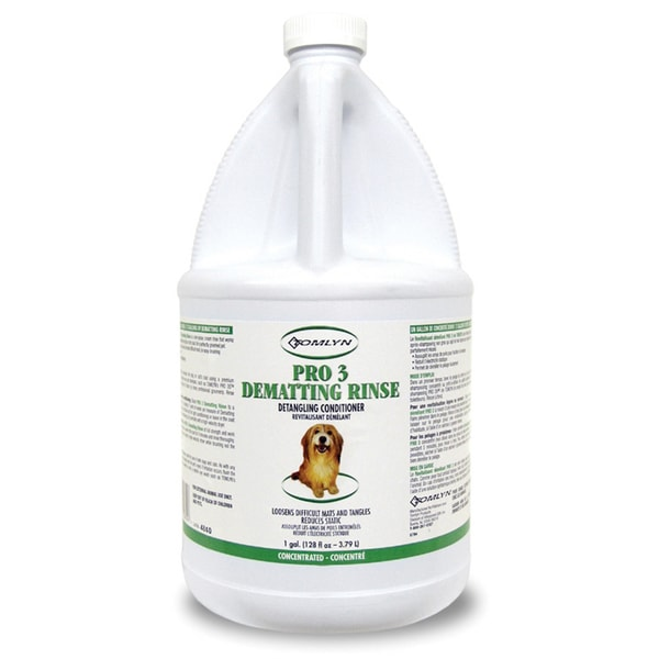 Tomlyn Pro 3 Dematting Dog / Cat Pet Rinse (1 gallon)