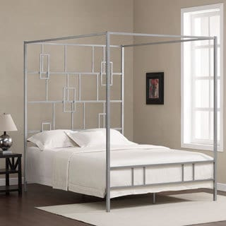 Manhattan Contemporary Metal Queen-size Bed
