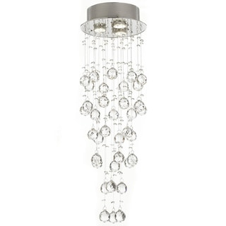 Gallery Crystal Raindrop 3-light Chandelier