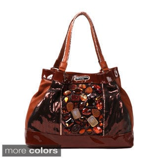 Nicole Lee 'Autumn Gemstone' Satchel