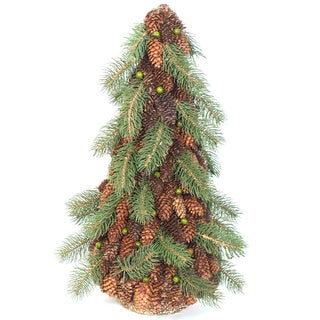 Sage & Co Pine and Pine Cone Topiary Tree