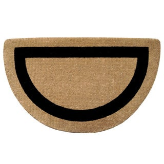 Heavy-duty Coir Single Picture Frame Doormat