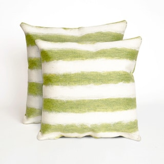 Soft Stripe 20-inch Decorative Pillow (Set of 2)