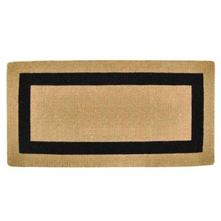 Heavy Duty Coir Single Picture Frame Door Mat