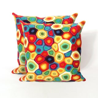 Pop Rocks 20-inch Decorative Pillow (Set of 2)