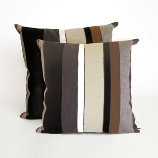 Vertical Stripe 20-inch Decorative Pillow (Set of 2)