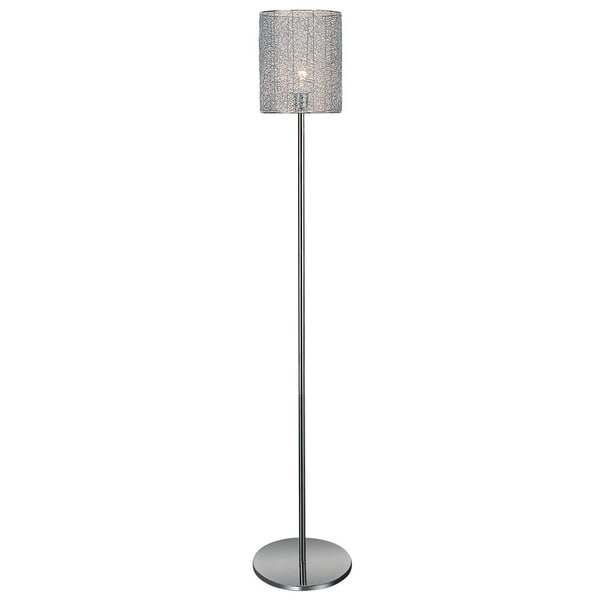 Distratto 1-light Chrome Floor Lamp
