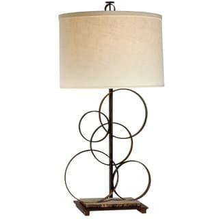 Artemis 1-light Antique Bronze Table Lamp