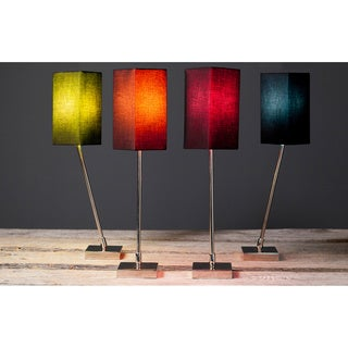 Filament 1-light Stainless Steel Hand-assembled Table Lamps (Set of 2)