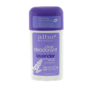 Alba Botanica Clear Enzyme 'Lavender' 2-ounce Deodorant Stick