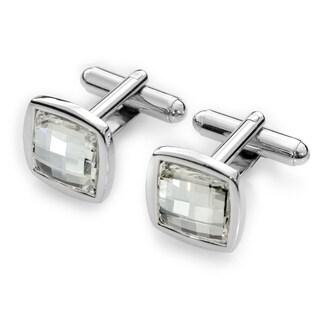 EJ Sutton Classic Crystal Cufflinks (Israel)