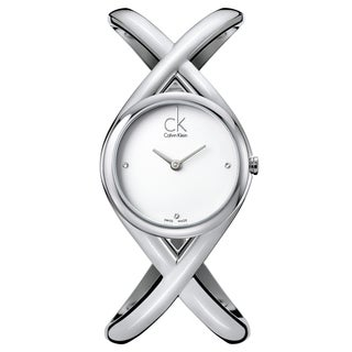 Calvin Klein Women's 'Enlace' Stainless Steel Swiss Quartz Watch
