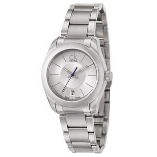 Calvin Klein Women's 'Strive' Stainless Steel Swiss Quartz Watch