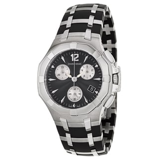 Concord Men's 'Saratoga' Stainless Steel Chronograph Watch
