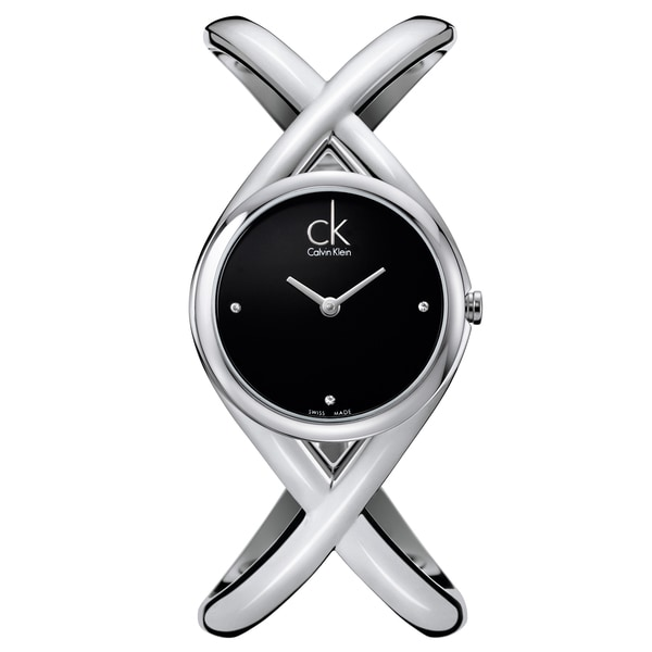 Calvin Klein Women's 'Enlace' Stainless Steel Swiss Quartz Watch 12242538