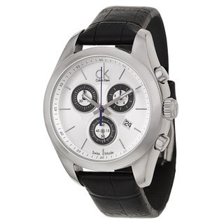 Calvin Klein Women's 'Strive' Stainless Steel Chronograph Watch