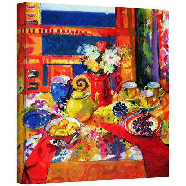 Peter Graham 'Window to Cannes' Gallery-Wrapped Canvas