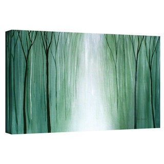 Herb Dickinson 'Misty Walk' Gallery-wrapped Canvas