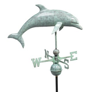 Good Directions Dolphin Copper Weathervane