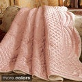 Whispersilk Satin Reversible Throw
