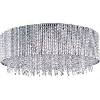 10-Light Spiral-Flush Mount