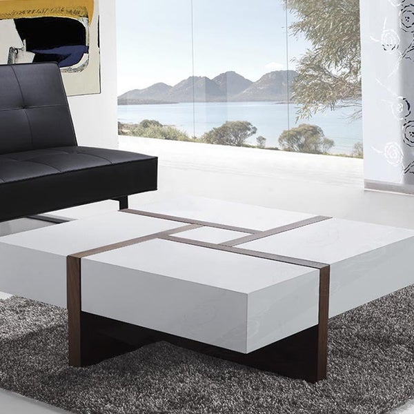 EVORA Modern Designer Coffee Table