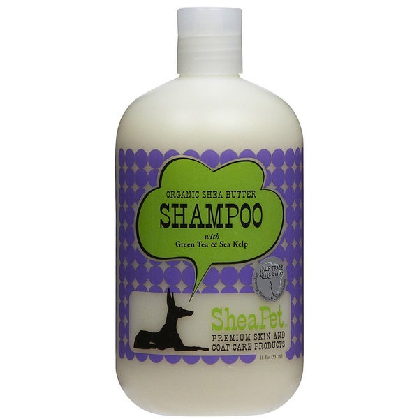 SheaPet Organic Shea Butter/ Green Tea/ Sea Kelp Pet Shampoo