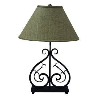 Deux Scrolls Table Lamp