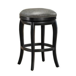 Marion Counter Height Stool in Black and Grey