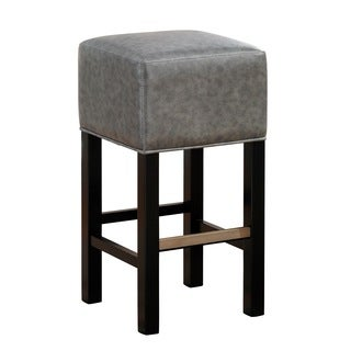 Isis Bar Height Stool in Black