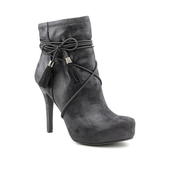 Women's BCBGeneration Abbie Black Kid Suede