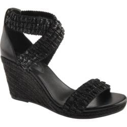 Women's BCBGeneration Barca Black Fabric/Leather