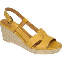 Women's Franco Sarto Crispin Bright Yellow Nubia Classic Leather