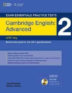 Exam Essentials Practice Tests 2: Cambridge English: Advanced (CAE): With Key