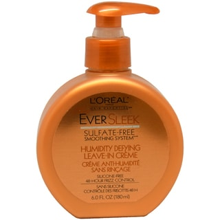 L'Oreal Paris EverSleek Humidity Defying Leave-in 6-ounce Creme