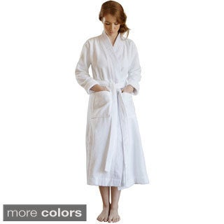 Pleated Handwoven Turkish Cotton Bath Robe