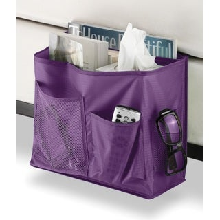 Whitmor Savvy Purple Bedside Caddy