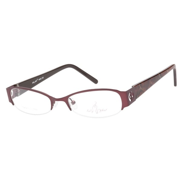 Baby Phat BP152 Dark Burgundy Prescription Eyeglasses
