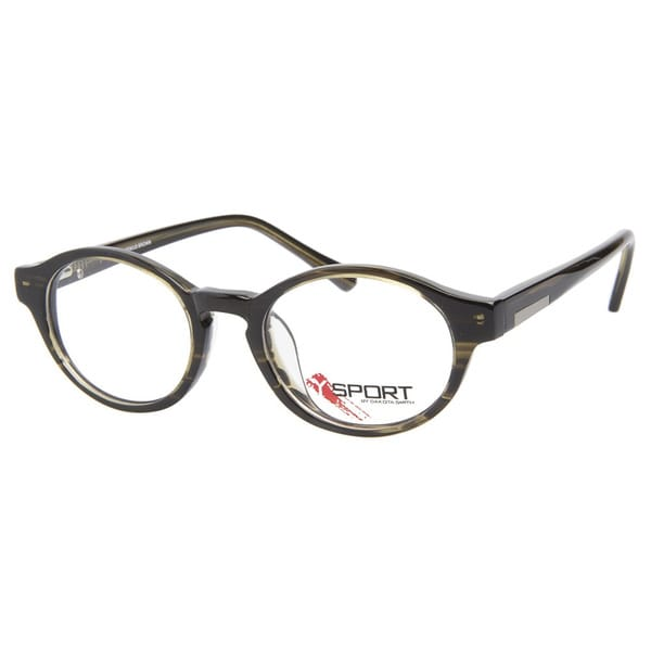 Y-Sport By Dakota Smith Genius Brown Prescription Eyeglasses