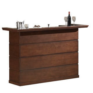 Westcott Brown Maple Wood Mini Bar