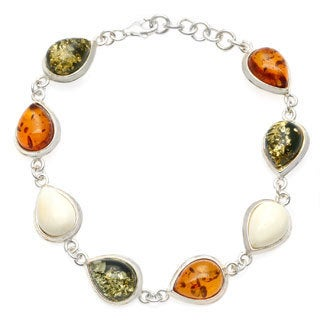 Multi-color Amber Bracelet