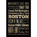 Helen Chen 'Boston I' Unframed Print